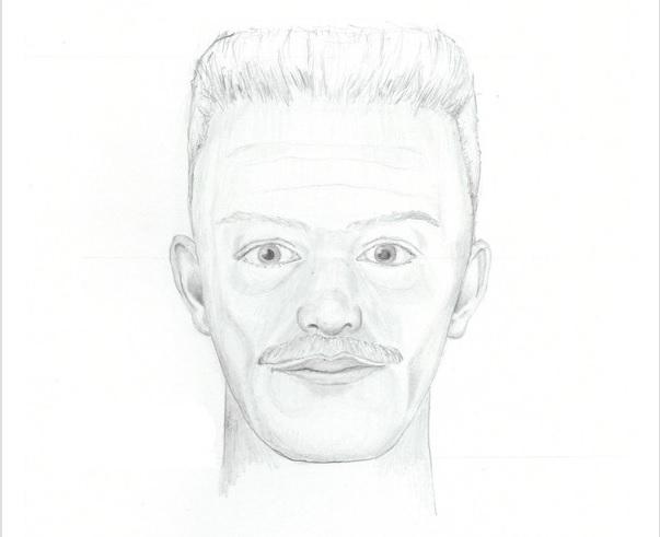 sketch of cop impersonator