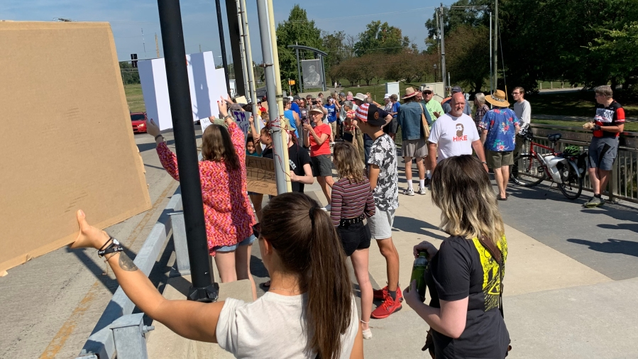 Protesters rally in Fort Wayne for climate change action