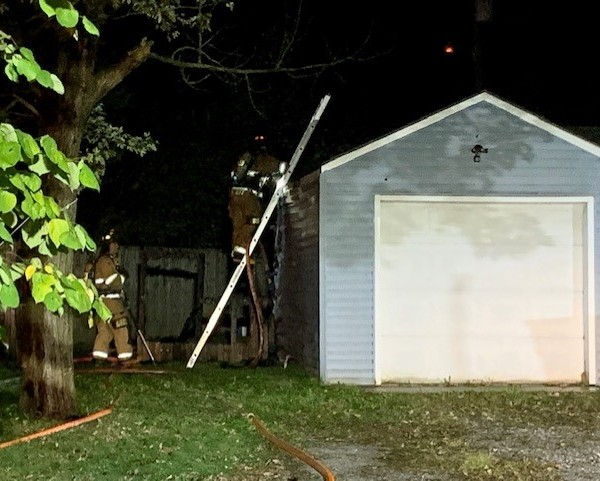 Werling Drive house fire