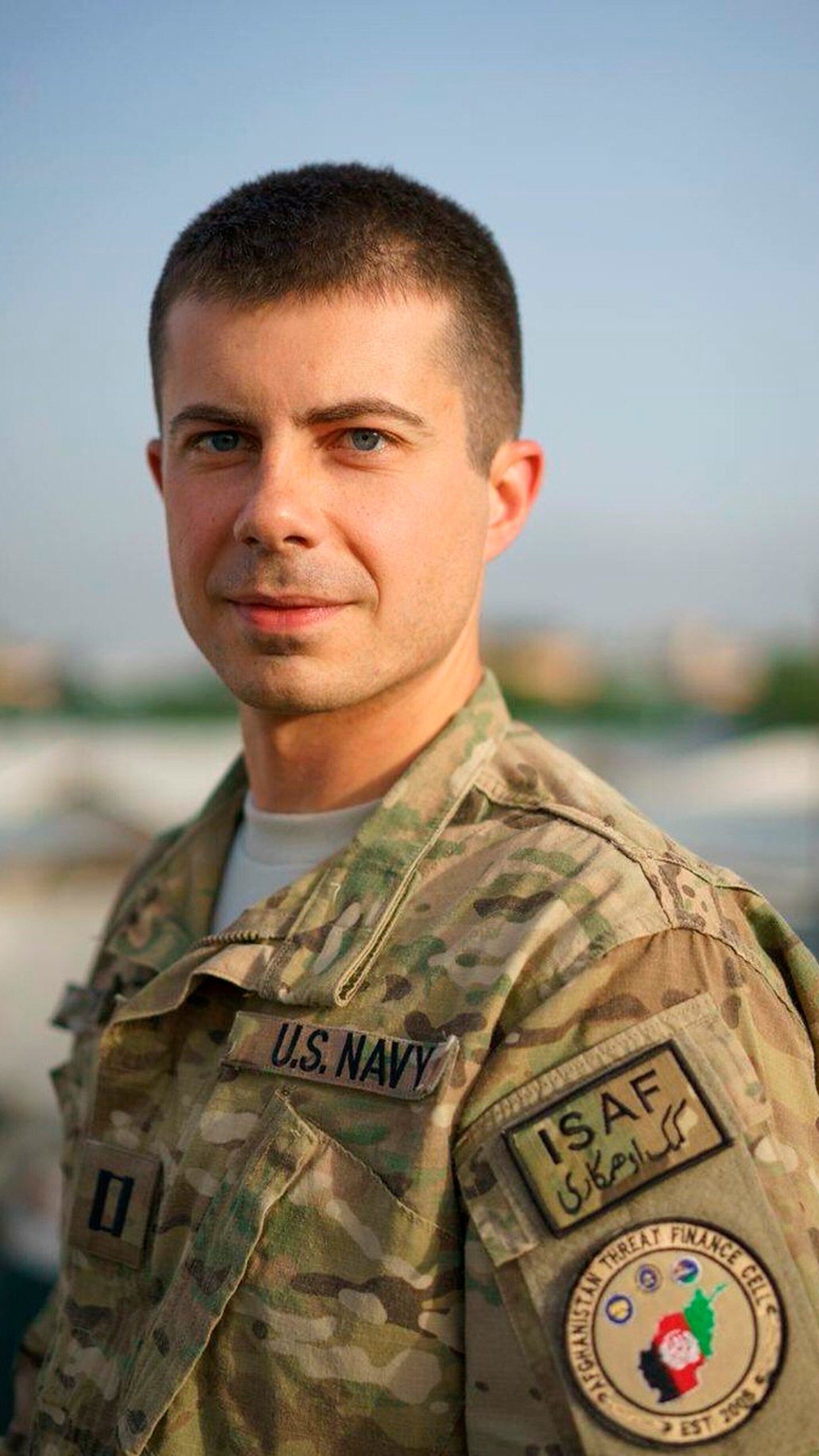 Election 2020 Pete Buttigieg Military