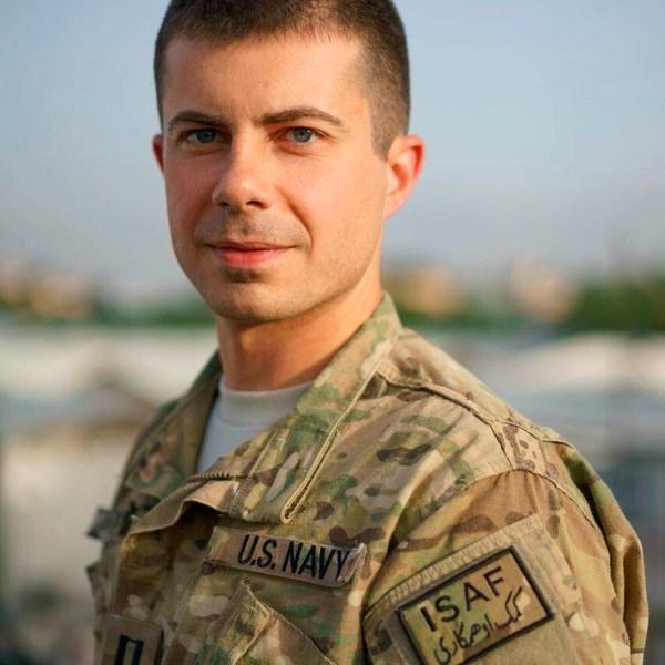 Election 2020 Pete Buttigieg Military