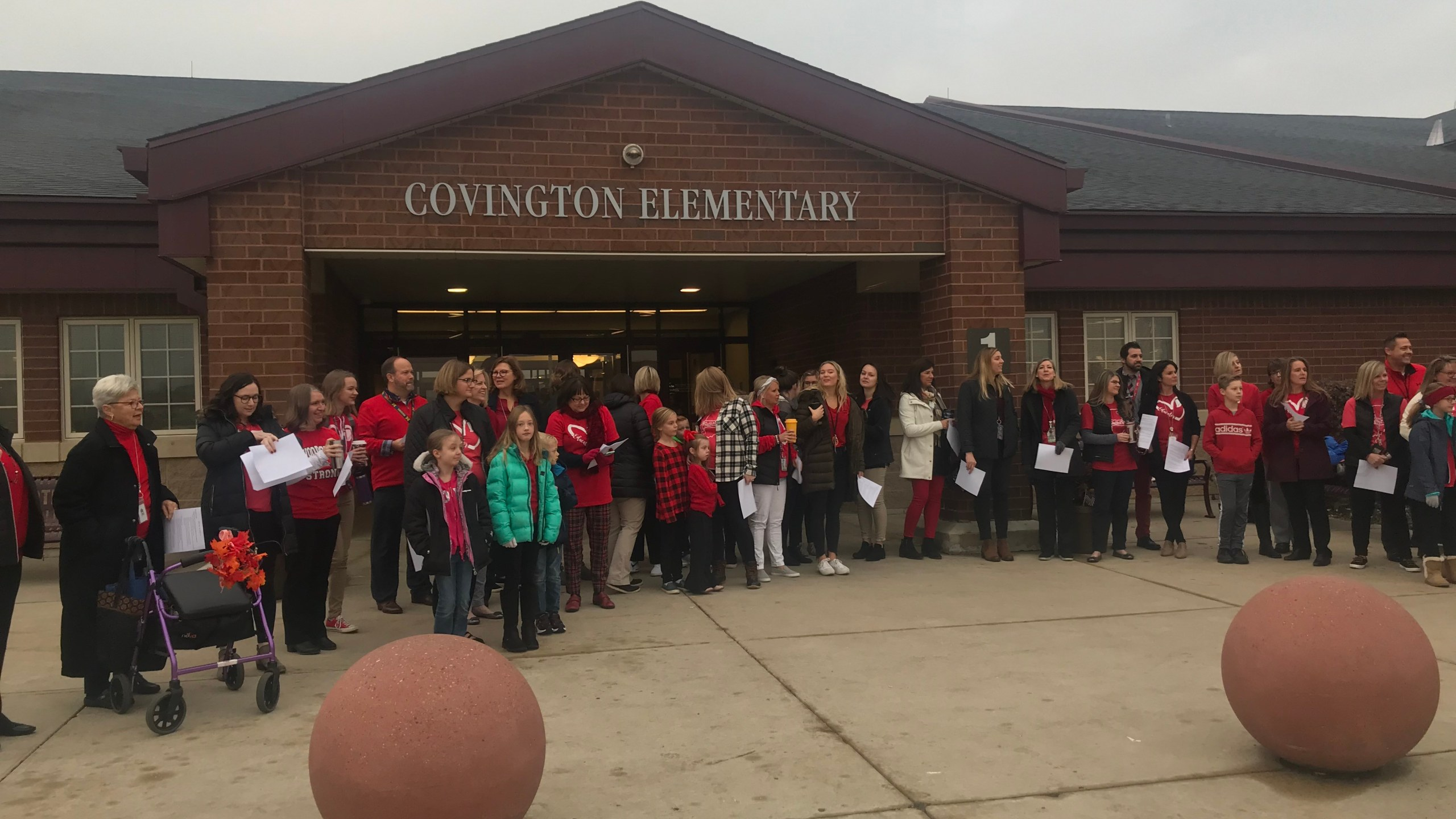 Covinington Elementary Red for Ed