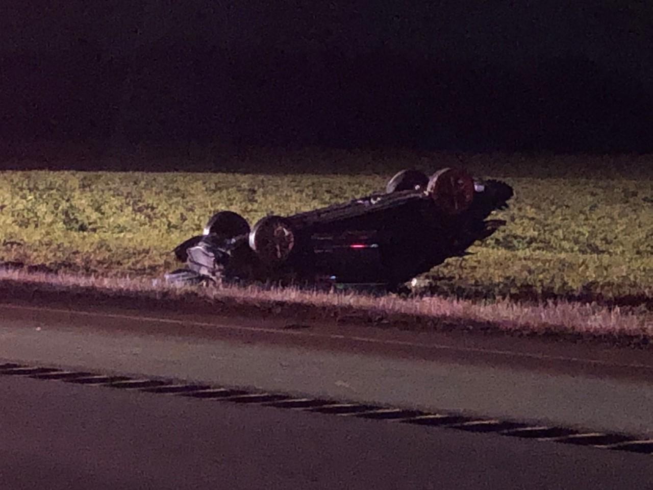 Alcohol a factor in Whitley County rollover crash