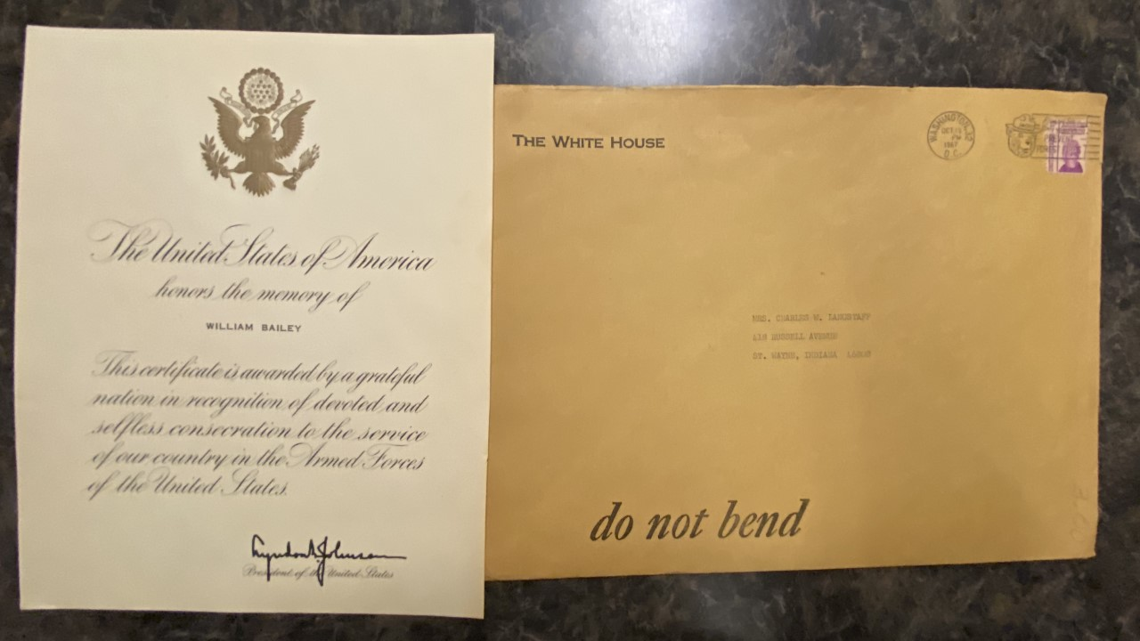 Presidential Letter Found In Garage Sale Purchase Leads To