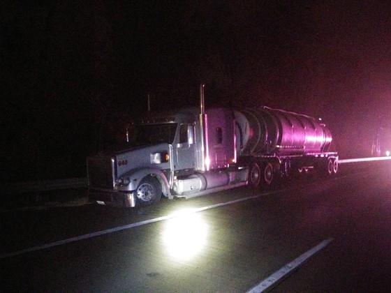 I-65 crash scene