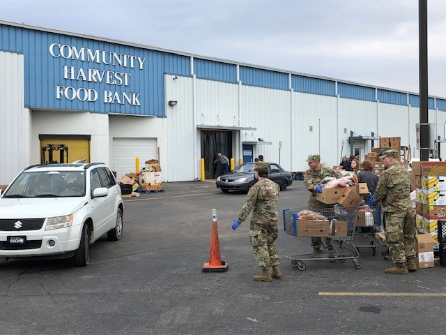 Community Harvest continues to provide crucial assistance one year into the pandemic