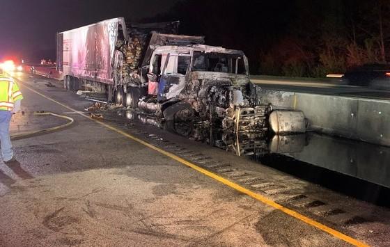 I-94 crash scene