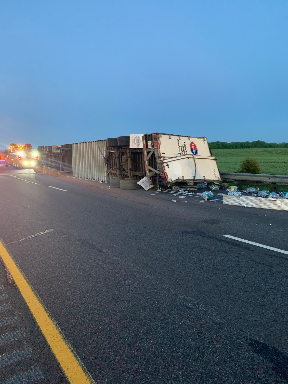 DeKalb County semi crash
