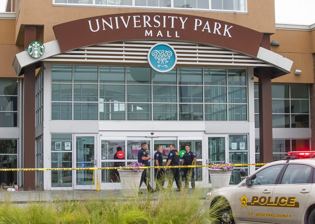 APTOPIX Indiana Mall Shooting