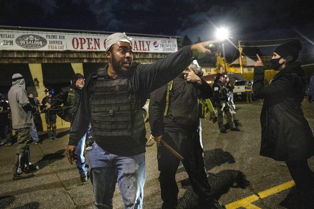 Police Shooting Washington