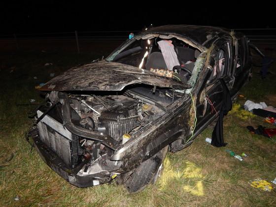 Crash on I-65