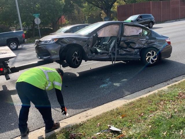 Crash on Jefferson
