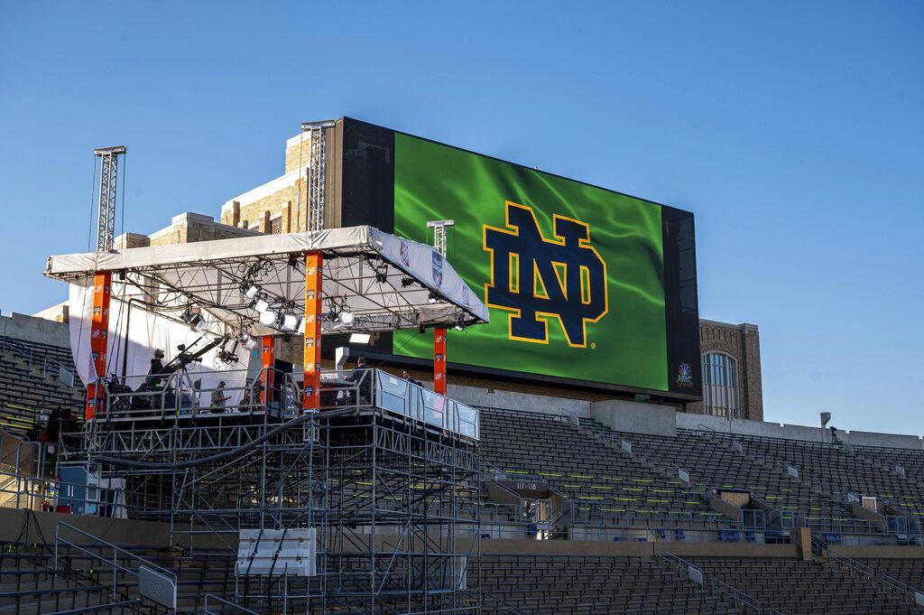 ESPN Clemson Notre Dame Football