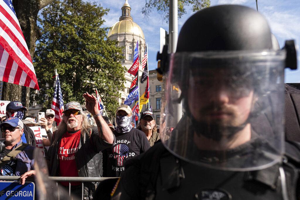 APTOPIX Trump Rally Georgia