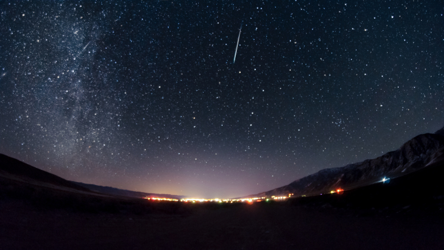 Meteors Visible This Tue Night Into Wed Morning Wane 15