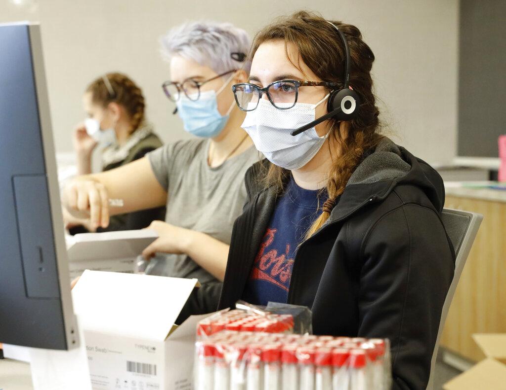 Virus Outbreak Idaho Hospitals
