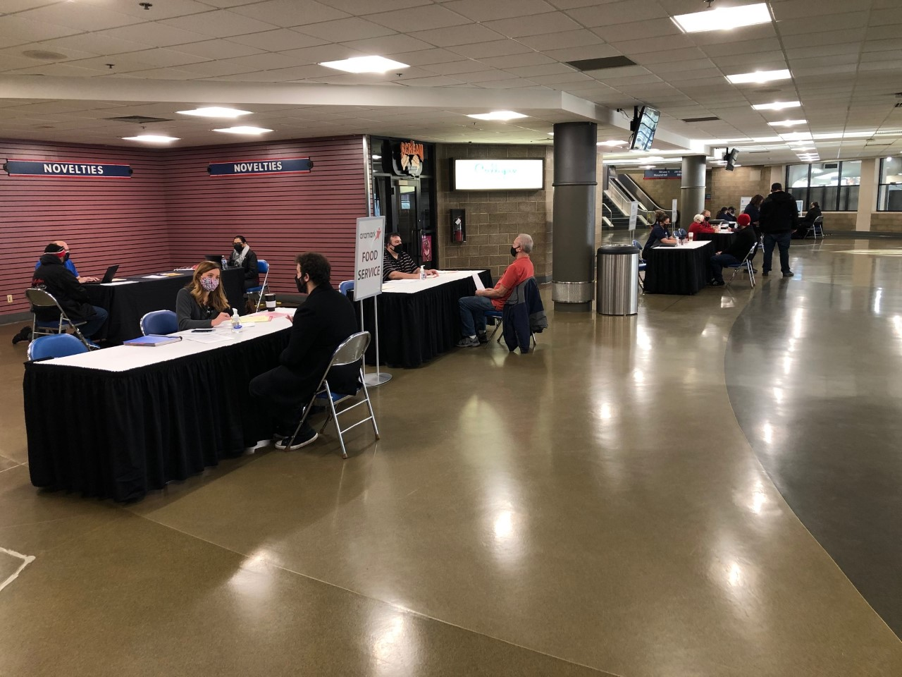 Coliseum Job Fair