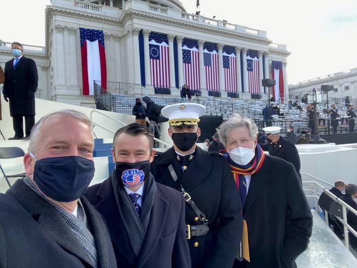 Sen. Young at 59th inauguration