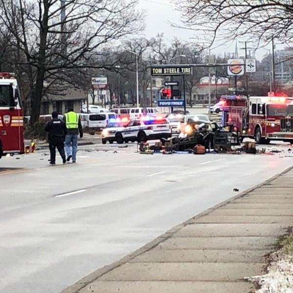Clinton Street crash