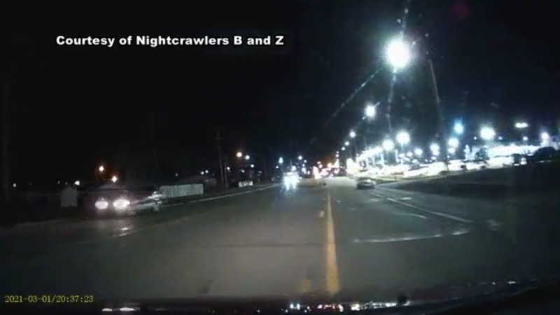 WATCH: Wrong-way police pursuit on Coldwater Road