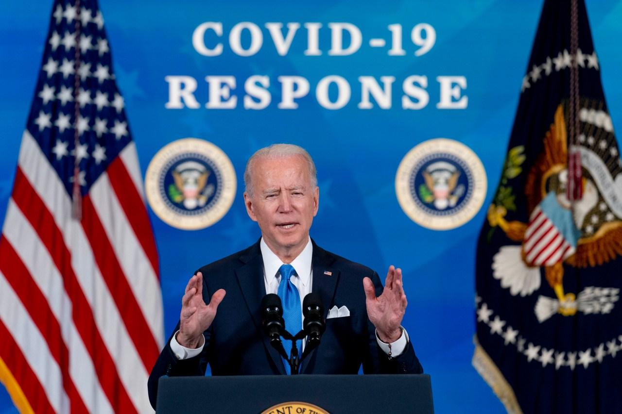 Biden set to sign .9T relief bill before speech to nation