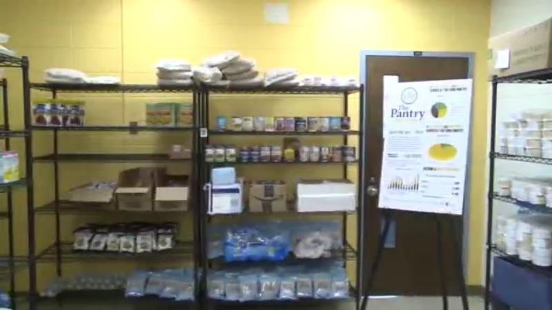 PFW food pantry