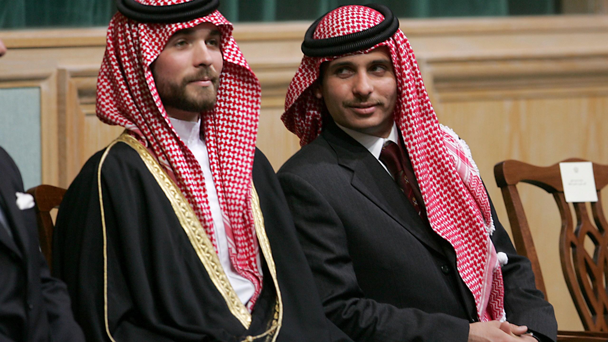 Prince Hamzah Bin Al-Hussein, Prince Hashem Bin Al-Hussein