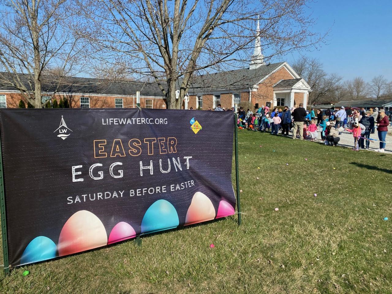 LifeWater Easter Egg Hunt