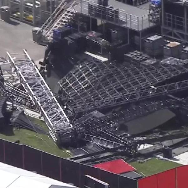 Rolling Loud Stage Collapses