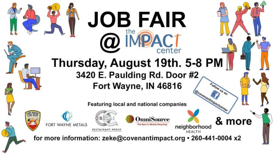 Impact Center Job Fair