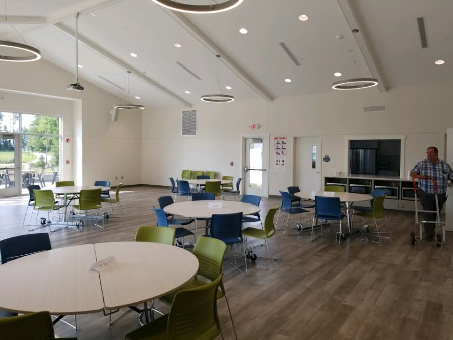 Inside a facility at Compass Rose Academy