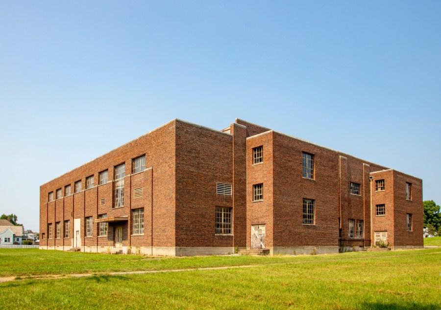James M. Shields Memorial Gymnasium, Seymour (Indiana Landmarks –Evan Hale)