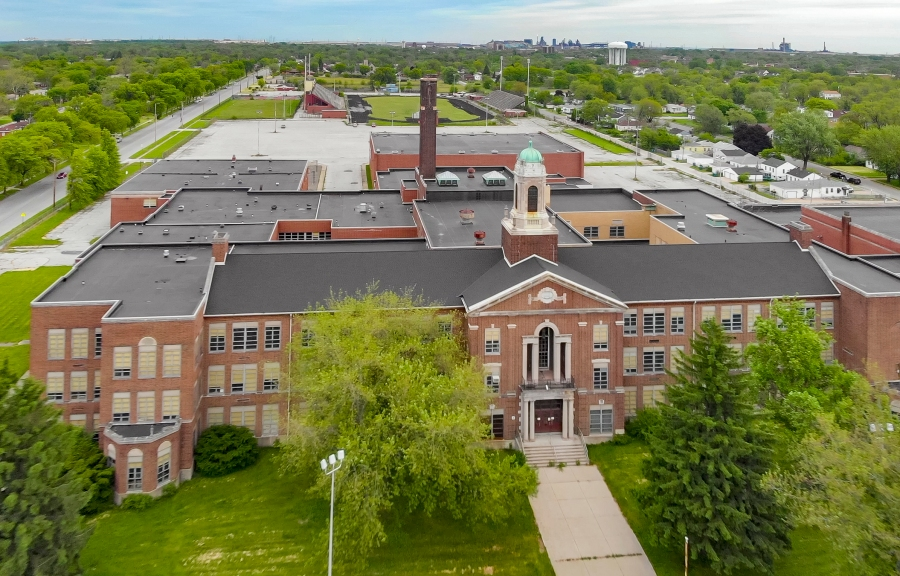 Theodore Roosevelt High School, Gary (Indiana Landmarks – Evan Hale)
