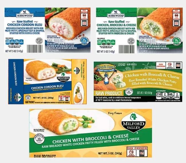 USDA Chicken Recall