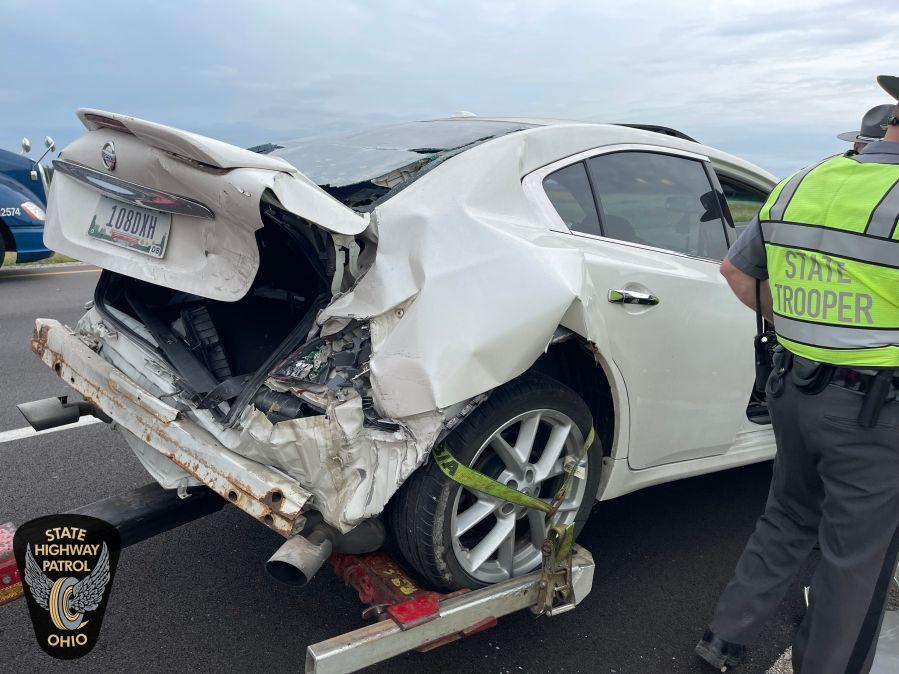 Defiance Nissan Crash