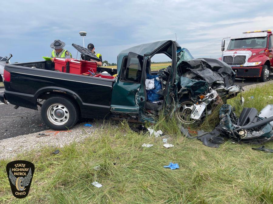 Defiance Pick-up Crash